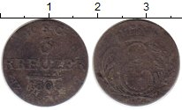 Изображение Монеты Германия Саксен-Кобург-Саалфелд 3 крейцера 1808 Серебро VF