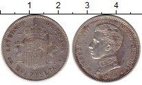 Изображение Монеты Испания 1 песета 1903 Серебро XF