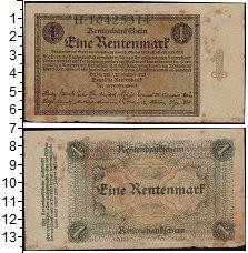 Изображение Банкноты Германия Веймарская республика 1 марка 1923  VF