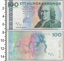 Изображение Банкноты Европа Швеция 100 крон 0  UNC
