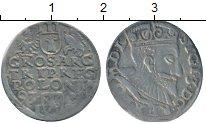 Изображение Монеты Польша 3 гроша 1593 Серебро XF- Сигизмунд III