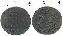 Изображение Монеты Германия Вюрцбург 4 крейцера 1752 Медь VF