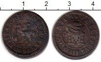 Изображение Монеты Европа Испания 4 мараведи 1601 Медь XF-