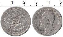 Изображение Монеты Европа Швеция 1 крона 1890 Серебро VF