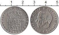 Изображение Монеты Европа Швеция 1 крона 1961 Серебро UNC-