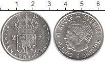 Изображение Монеты Европа Швеция 2 кроны 1958 Серебро UNC