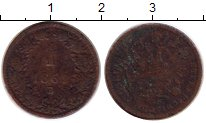 Изображение Монеты Европа Австрия 1 крейцер 1861 Медь VF