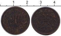 Изображение Монеты Европа Австрия 20 геллеров 1916 Железо VF
