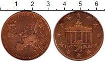 Изображение Мелочь Германия 1 1/2 евро 1997 Бронза XF