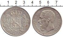 Изображение Монеты Европа Бельгия 5 франков 1873 Серебро XF