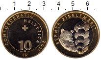Изображение Монеты Швейцария 10 франков 2011 Биметалл UNC Рынок лука в Берне,