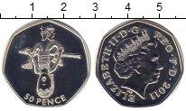 Изображение Монеты Европа Великобритания 50 пенсов 2011 Медно-никель UNC-
