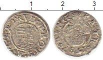 Изображение Монеты Европа Венгрия 1 денарий 1587 Серебро VF
