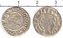 Изображение Монеты Европа Венгрия 1 денарий 1584 Серебро VF