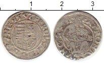Изображение Монеты Европа Венгрия 1 денарий 1557 Серебро VF