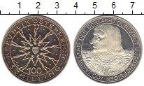 Изображение Монеты Австрия 100 шиллингов 1978 Серебро Proof-