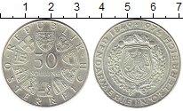 Изображение Монеты Австрия 50 шиллингов 1974 Серебро UNC- 125 лет Австрийской