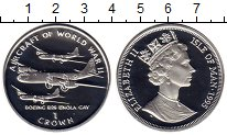 Изображение Монеты Остров Мэн 1 крона 1995 Серебро Proof