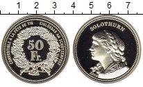 Изображение Монеты Швейцария 50 франков 2006 Серебро Proof Золотурн, девушка
