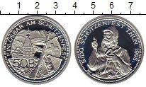 Изображение Монеты Европа Швейцария 50 франков 1995 Серебро Proof