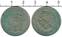 Изображение Монеты Европа Швеция 1 крона 1964 Серебро XF