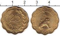 Изображение Монеты Парагвай 25 сентим 1953 Латунь UNC-
