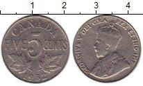 Изображение Монеты Канада 5 центов 1932 Медно-никель XF
