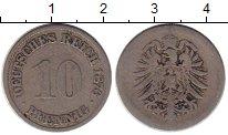 Изображение Монеты Европа Германия 10 пфеннигов 1876 Медно-никель VF