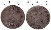 Изображение Монеты Польша 6 грошей 1661 Серебро VF