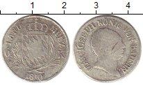 Изображение Монеты Германия Бавария 6 крейцеров 1810 Серебро VF