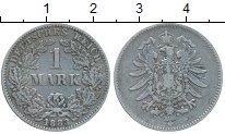 Изображение Монеты Европа Германия 1 марка 1883 Серебро VF