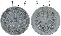 Изображение Монеты Европа Германия 1 марка 1877 Серебро VF