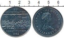 Изображение Монеты Канада 1 доллар 1982 Медно-никель UNC- 115 лет конституции