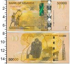 Изображение Банкноты Уганда 50000 шиллингов 2017  UNC