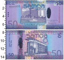 Изображение Банкноты Самоа 50 тала 2012  UNC 50 лет независисмост