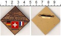 Изображение Монеты Швейцария Значок 1985 Латунь UNC- 125 лет ж/д Базель