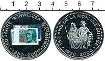 Изображение Монеты Европа Швейцария Медаль 2000 Медно-никель Proof