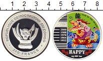 Изображение Монеты Африка Конго 240 франков 2012 Серебро Proof
