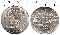 Изображение Монеты Чехия Чехословакия 100 крон 1992 Серебро UNC