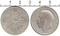 Изображение Монеты Европа Великобритания 1 флорин 1936 Серебро VF