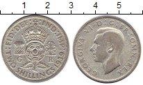 Изображение Монеты Великобритания 2 шиллинга 1939 Серебро VF