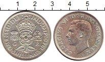 Изображение Монеты Европа Великобритания 2 шиллинга 1940 Серебро VF