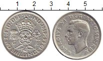 Изображение Монеты Европа Великобритания 2 шиллинга 1944 Серебро VF