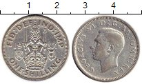 Изображение Монеты Европа Великобритания 1 шиллинг 1937 Серебро VF
