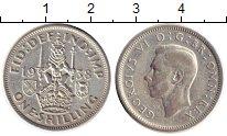 Изображение Монеты Великобритания 1 шиллинг 1938 Серебро VF Георг VI
