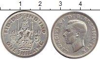 Изображение Монеты Европа Великобритания 1 шиллинг 1940 Серебро VF