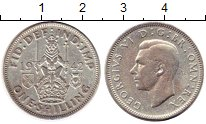 Изображение Монеты Великобритания 1 шиллинг 1942 Серебро VF