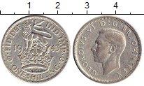 Изображение Монеты Великобритания 1 шиллинг 1943 Серебро VF