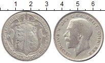 Изображение Монеты Европа Великобритания 1/2 кроны 1920 Серебро VF
