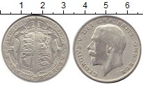 Изображение Монеты Европа Великобритания 1/2 кроны 1921 Серебро VF